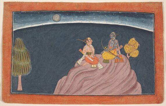 Rama and Lakshmana on Mount Pavarasana 570x365 - Masterworks & Museum Accessions