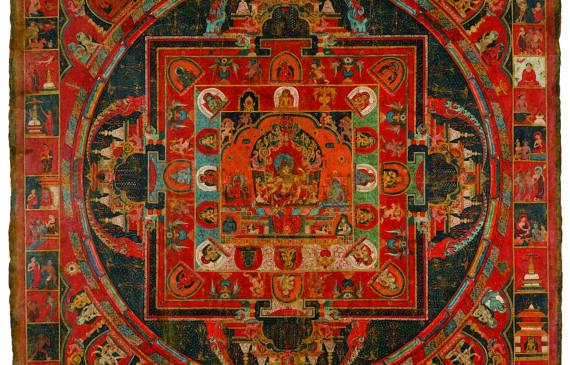 Vasudhara Mandala • Jasaraja Jirila • 1365 570x365 - Masterworks & Museum Accessions